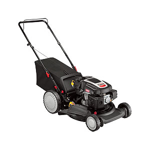 how to change oil in yard works push mower